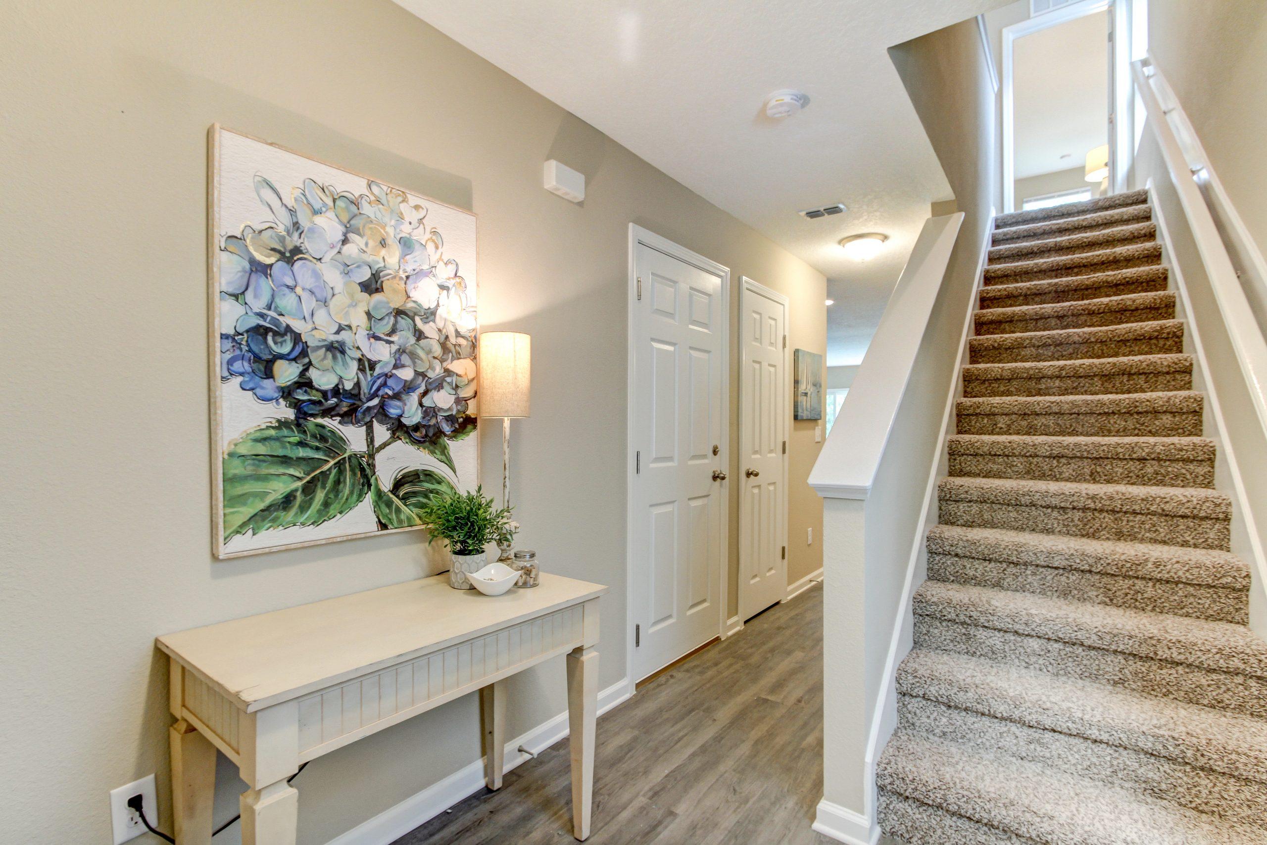 Cedar Village Interior Stairs