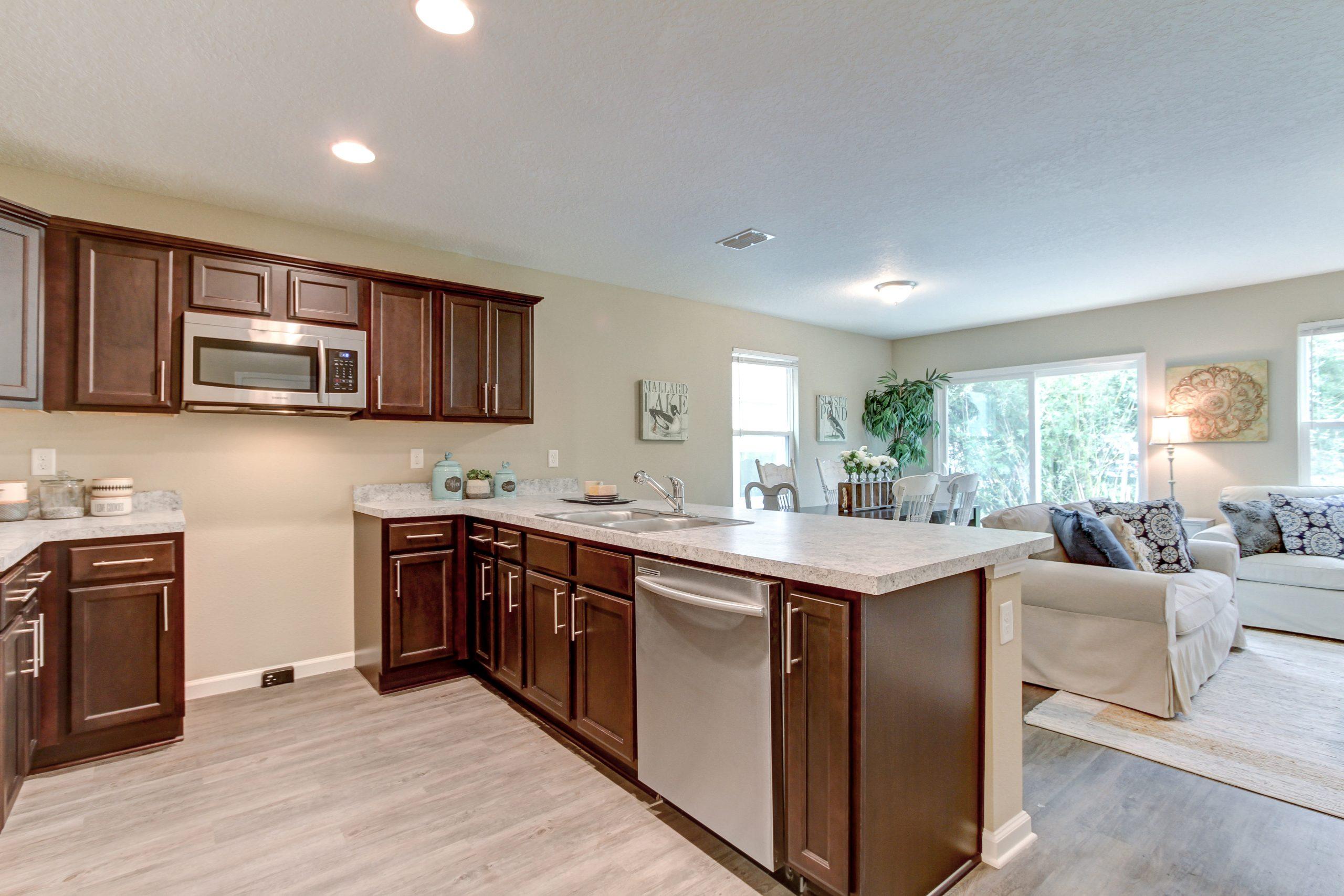 Cedar Village Interior Kitchen