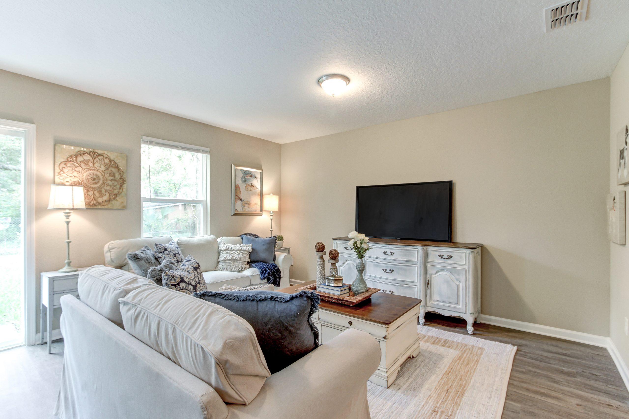 Cedar Village Interior Living Room